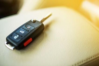 Moderner Autoschlüssel